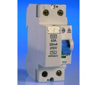 Image for Wylex Lifeline Range WRS63/2 RCD 63A 30mA Double Pole