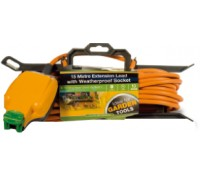 Image for BG Electrical Nexus Outdoor Power CT1513-MS 1 Gang Extension Lead On Cable Tidy 15M Orange