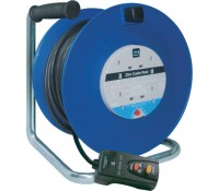 Image for BG Electrical Nexus Work Power LDCC2513/4BLRCD-MP Cable Reel Open Cable Reel 25M 13 Amp 4 Socket Blue