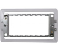 Image for BG Electrical Nexus Grid GFR34FP 3 And 4 Gang Frame for Screwless
