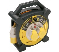 Image for BG Electrical Nexus Work Power LVHLT2516/2-MP Site Equipment 110 Volt Case Reel 25M 16 Amp Black