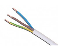Image for Cable 3183Y 0.75mm 3 Core Pvc Flex White 100 Metres