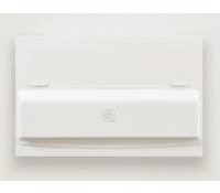 Image for MK Sentry K5666sMET Metal Split Consumer Unit 16 Way 100A Main Switch and  2x63A RCD