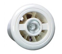 Image for Vent Axia LuminAir Range Vent Light Safety Extra Low Voltage Duct Air Inlet  453395 White