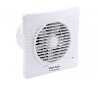 "Image for Vent Axia Lo Carbon Silhouette Range 150B 6"" Kitchen Axial Fan with Back Draught Shutter"