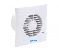 "Image for Vent Axia Lo Carbon Silhouette Range 100HT 4"" Bathroom Toilet slim profile extract fan with Back Draught Shutter Humidistat and Timer 441626"