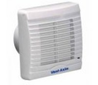 "Image for Vent Axia VA100 Range VA100XHT 4"" Bathroom/Toilet Axial Slim extract Fan with Shutter, Timer and Humidistat 251510"