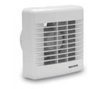 Image for Vent Axia Basics Range BAS100T 4 Bathroom Toilet Unshuttered Axial Fan with Overrun Timer 436521