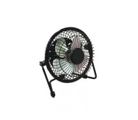 Image for USB Mini Desk Cooling Fan Adjustable Head to Maximise Airflow Ideal running of a Laptop or PC Home or Office Black EH1570