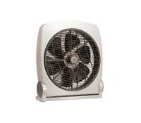 Image for Vent Axia Cooling Range Box Fan 14 Floor Standing Rotating Air Circulator White 427584