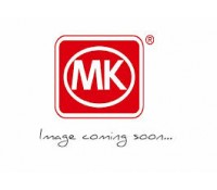 Image for MK Edge K14305BSSB 32A Double Pole Switch Neon 1 Gang Brushed Stainless Steel Black Insert
