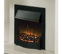 Image for Dimplex Optiflame Fire Range DAN20BL 2 kW Traditional Inset Fire Danesbury Black real coals