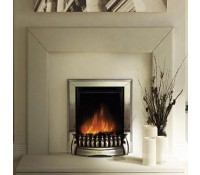 Image for Dimplex Optiflame Fire Range EBY15CH 1.2 kW Traditional Inset Fire Exbury Chrome real coals c/w remote control
