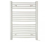 Image for Dimplex TDTR350W Daytona 350 Watt Curved Towel Rail Designer Ladder Style Oil Filled IPX4 rated Chrome
