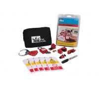 Image of Ideal Industries Contractor Lockout Kit with Zipped Pouch