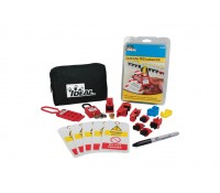 Image of Ideal Industries Contractor Pro Lockout Kit with Zipped Pouch