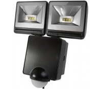 Image for Timeguard LED Night Eye LED200PIRB 8 Watt LED Energy Saving Floodlight PIR Detector Black