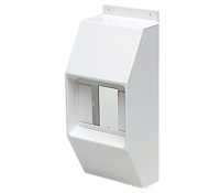 Image for MK Prestige Poles and Posts PPCMHWHI MCB/RCD Housing White