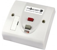Image for Timeguard Valiance RCD10WPV 13A 30mA Double Pole Fused RCD Spur Passive White