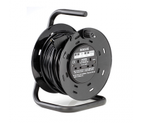 Image for Brackenheath Cable Reel SE25CB 25Mtr 2 x13Amp 240V Outlet 1.25mm Cable