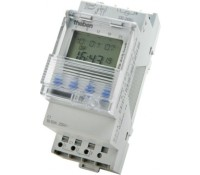 Image for Timeguard Theben top2 TR610TOP2 24 Hour 7 Day Single Channel 2Module 16A Din Rail Timeswitch