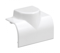 Image for MK Prestige 3D Dado and Skirting VP188WHI Adaptor Mini-Trunking /Conduit White