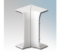 Image for MK Prestige 3D Dado and Skirting VP191WHI Flexible Internal Corner White