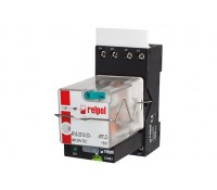 Image of Europa Industrial Relay Octal 8 Pin 230V 10A 2 Pole Requires Base