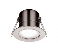 Image of Luceco 5W LED Downlight Fire Rated Fixed 3000K Polished Chrome
