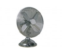Image of Chrome Desk Fan 12 Inch 3 Speed