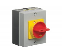 Image for Europa Rotary Isolator Switch 20A 4 Pole IP65