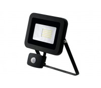 Image of JCC LED Floodlight with PIR 30W 2800lm 4000K IP65 Black