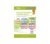 Image of Kewtech Electrical Installation Condition Certificates TC3 Book of 8