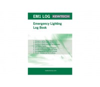 Image of Kewtech Logbook for Emergency Lighting Systems A4 Pad