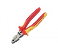Image of Knipex Combination Pliers 180mm VDE Fully Insulated 32015