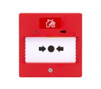 Image of ESP Resettable Call Point for Two Wire Fire Alarm Systems