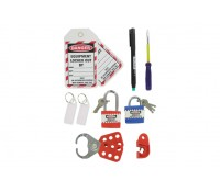 Image of MCB Lockout Kit in a Handy Zipped Pouch