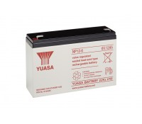 Image of Yuasa Battery 12Ah 6V Rechargeable