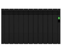 Image of Rointe DIB1430RAD Electric Radiator 13 Elements 1430W Black Wifi Ready