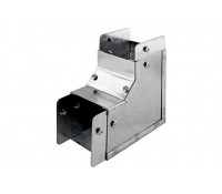 Image of Trench 50x50mm Internal Bend 90 Degree Metal Cable Trunking