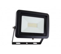 Image of Wirefield Commercial 50W LED Floodlight 4577lm 5200K IP65 Black