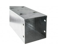 Image of Trench ST44 Metal Cable Trunking 100x100mm Galvanised with Lid
