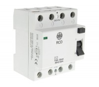 Image of Wylex WRDS100/4 Type A RCD 100A 30mA 4 Pole 4 Module
