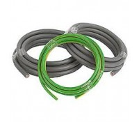 Cable Double Insulated Tails Pack 5 Metres of 25mm Brown 25mm Blue and 16mm Green and Yellow Earth