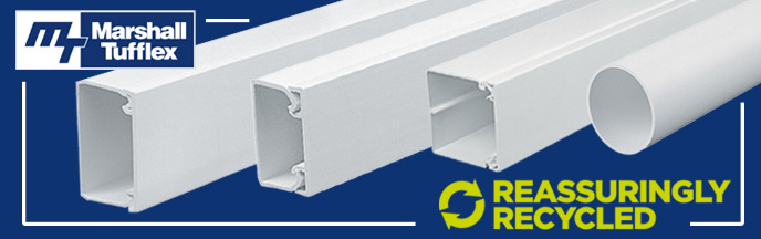 Marshall-Tufflex 100% Recyclable Trunking