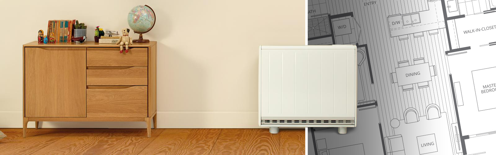 How to calculate what size heater for a room?