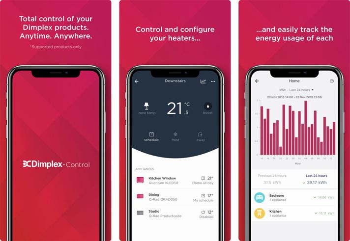 Image of Dimplex Control App